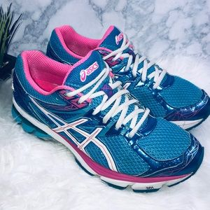 ASICS Gt-1000 3 T4K8N Turquoise/White/Hot Pink 10